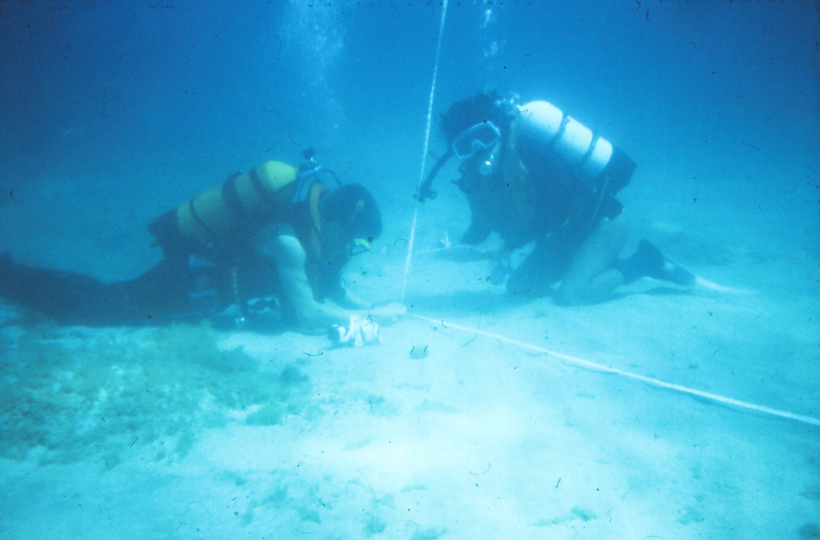 Wreck Hunters - Course Content - Survey - Baseline Positioning