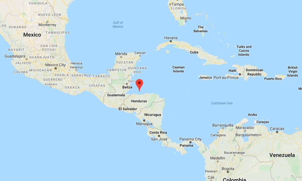 Wreck Hunters - Caribbean Map